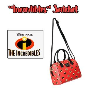 Brand New Loungefly Incredibles Satchel  Bag